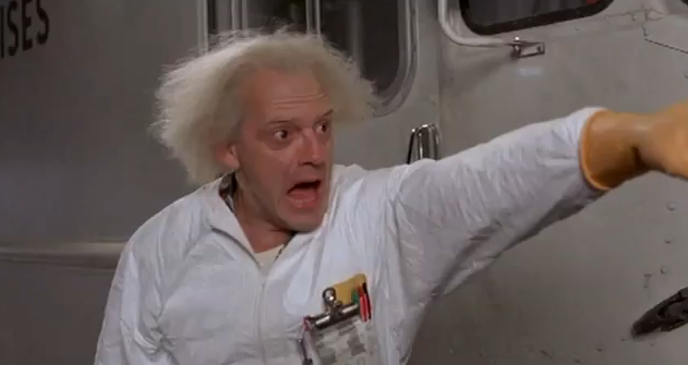 Doc Brown, Back to the Future