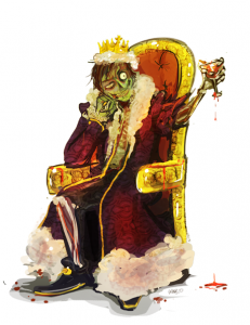 The Zombie King by *Rhazcrossbones